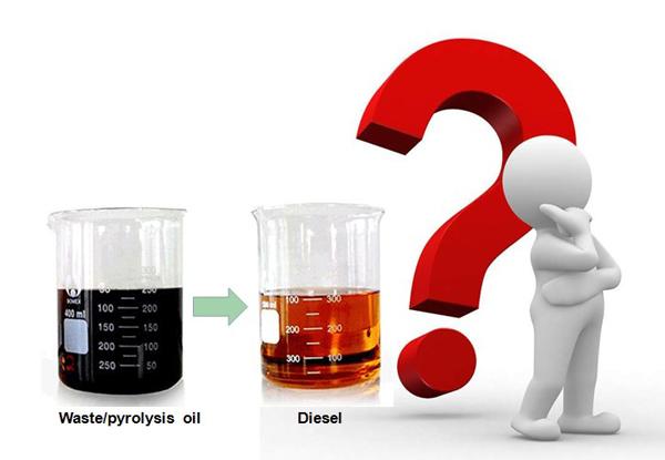 used motor oil to diesel