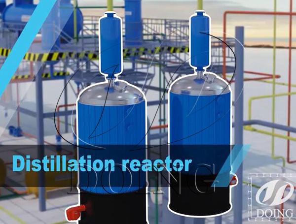 used motor oil distillation