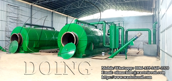 tire oil extraction machine