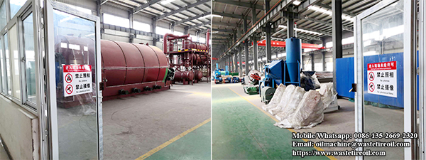 tire pyrolysis equipment factory