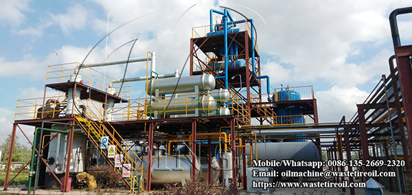 5TPD waste oil distillation plant project successfully installed in Malaysia