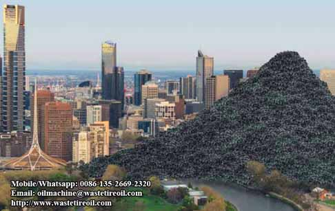 Why is waste tire to oil recycling plant very popular in Africa?