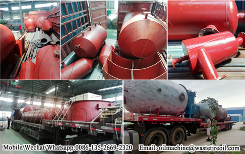 5T/D waste oil distillation machine delivered to Mexico