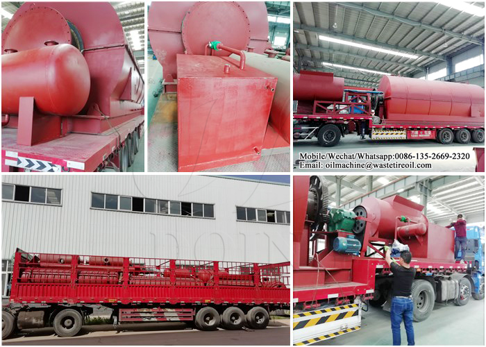 waste tire pyrolysis project
