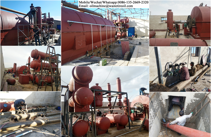 tire pyrolysis project