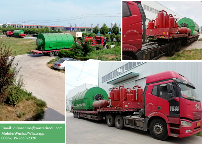 waste tyre oil extraction machine