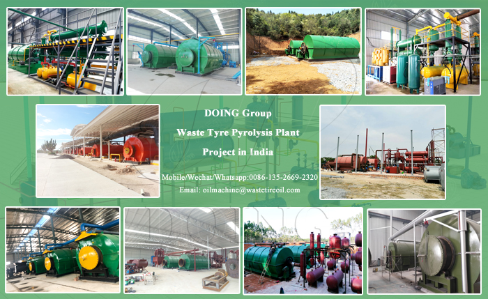 waste tyre oil plant in india