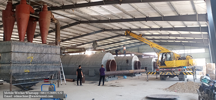 tyre pyrolysis plant in south africa