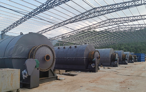 72TPD waste tyre pyrolysis plant project in Australia