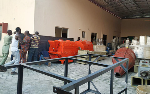DOING's overseas warehouse in Nigeria was successfully established