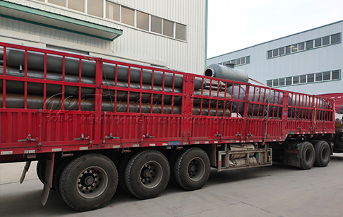 48TPD waste tyre pyrolysis plant delivered to Malaysia