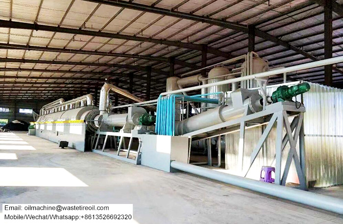fully automatic tyre pyrolysis plant