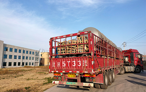 6 sets big capacity tyre to fuel oil recycling plant to Hunan, China