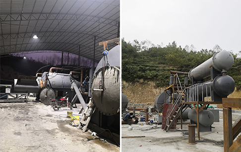 36TPD waste tyre pyrolysis plant project in Czech Republic