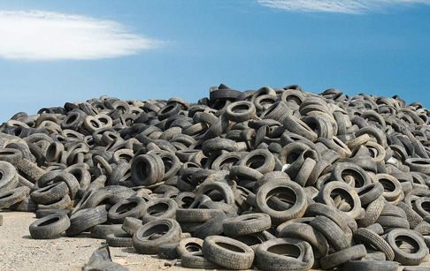 How do you recycle tires for profit?
