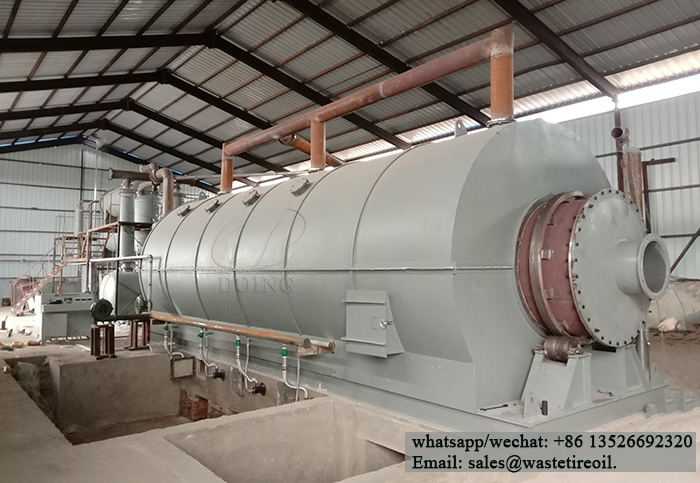 waste oil sludge pyrolysis plant