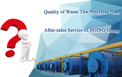 Why buy waste tire pyrolsyis plant from DOING Group?