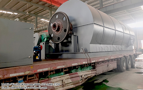 10TPD recycling waste plastic to oil plant and 5TPD used oil distillation plant delivered to Nigeria