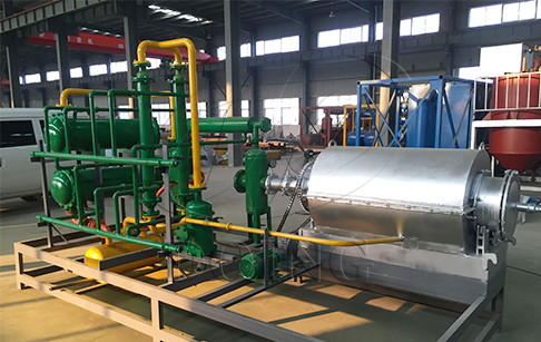 Can the pyrolysis machine used in laboratory?
