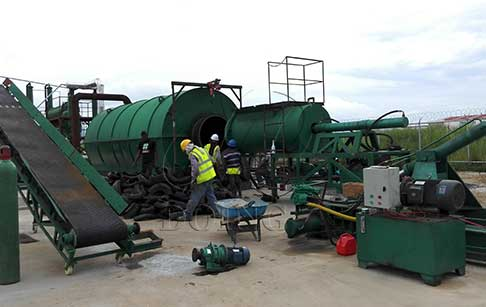 To install pyrolysis machines for Panama customers