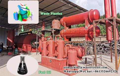 Singapore customer ordered 2 tons of waste plastic pyrolysis plant from Doing