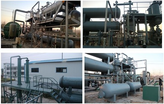 waste plastic pyrolysis to oil plant