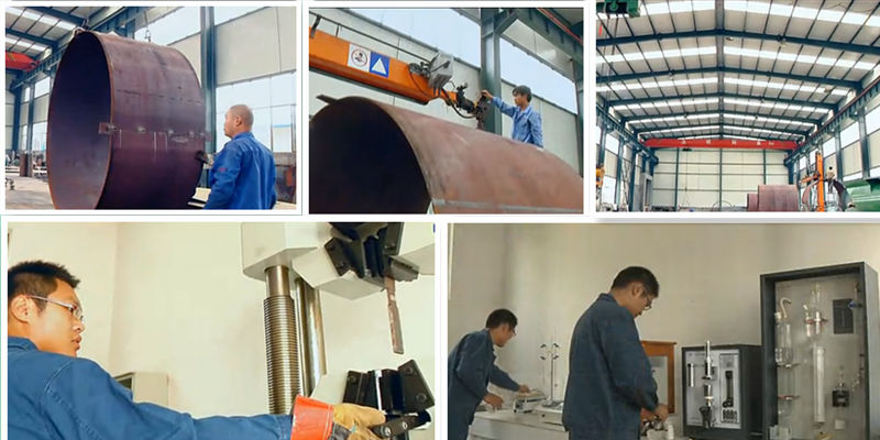 pyrolysis plant working shop
