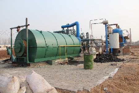 Pyrolysis technology support of during recycling centers for Where to dispose of old motor oil