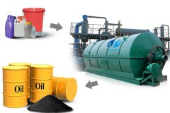 The pyrolysis technology of DOING waste plastic recycling to fuel oil machine