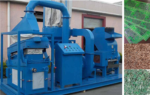 Waste circuit board recycling machine