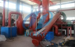 What is the advantage of fully automatic continuous pyrolysis plant?