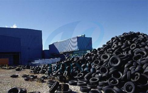 waste tire pyrolysis to fuel oil