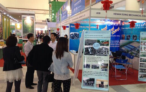 DOING attend Vietnam Machinery Exhibition