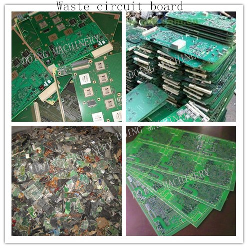 electronic circuit board recycling plant