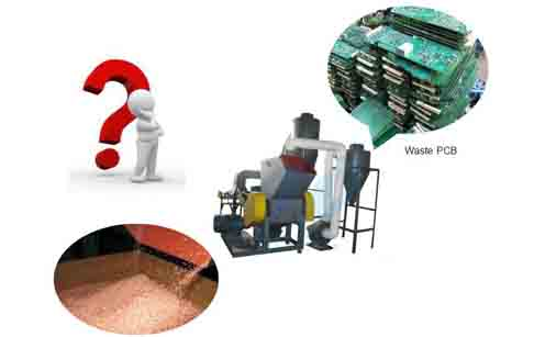 circuit board recycling plant