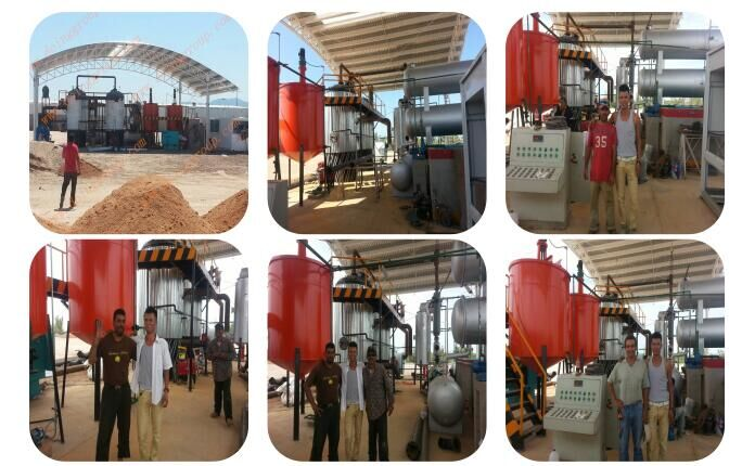 Manufacture of waste engine oil refine to diesel machine for Waste motor oil to diesel