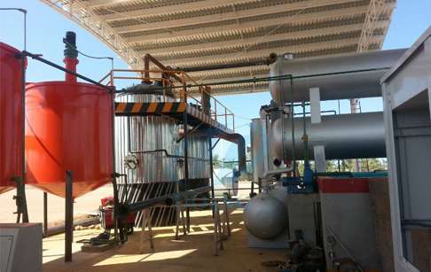 oil refine to diesel