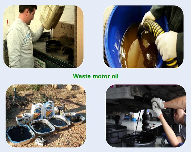 used  motor oil recycled