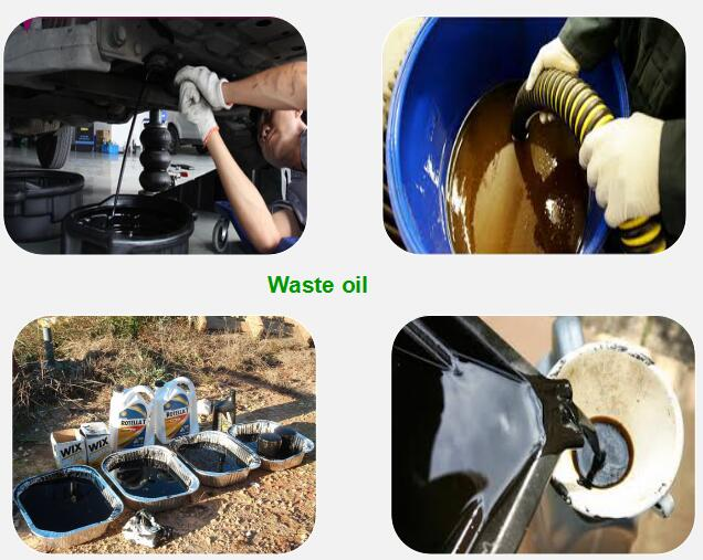 waste oil disposal