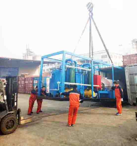 small unit pyrolysis plant