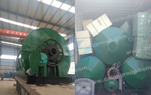 recycling tyre plant