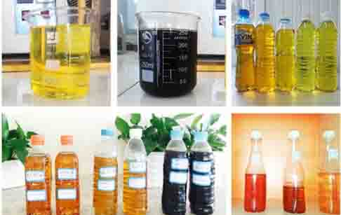 Pyrolysis fuel oil specifications ?_Waste Tire/Plastic