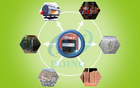 pyrolysis tire oil application