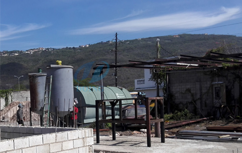 To install waste tire pyrolysis plant for Jamaica customers