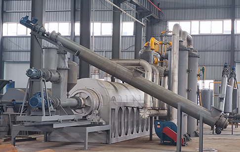 DOING Continuous Waste Plastic To Oil Machine