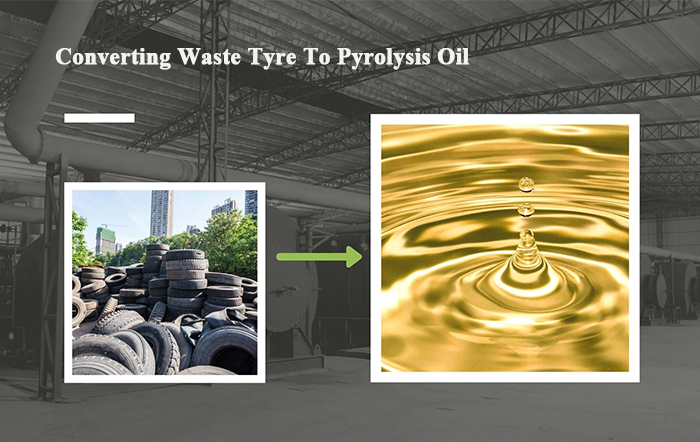 pyrolysis oil from tyre recycling