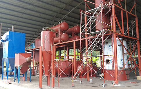Tyre Pyrolysis Oil to Diesel Distillation Plant