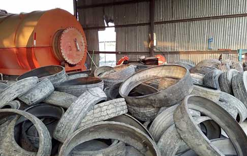 Waste Tyre Pyrolysis Machine Technical Parameters