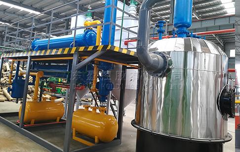 Waste oil distillation machine deliveried to Singapore